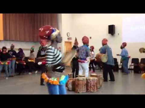 African dance class at York