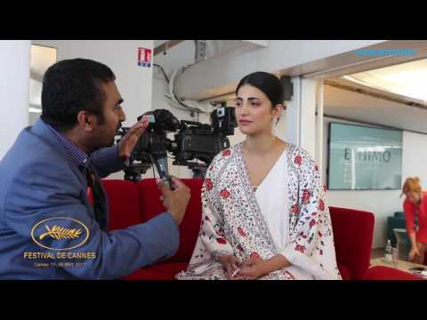 Shruti Haasan Speaks about Sangamithra at Cannes Film Festival 2017 | Manorama Online