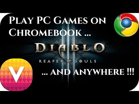Play PC Games On ANY Chromebook !!!