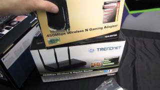 trendnet tew 684ub 450mb s wireless usb adapter unboxing first look linus tech tips