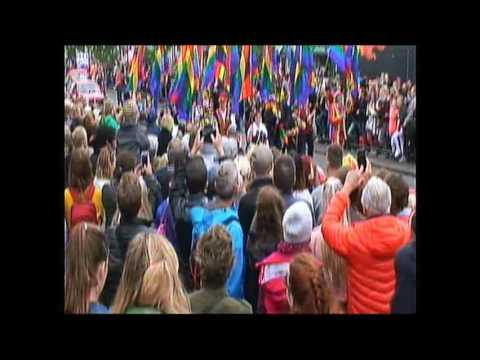 Reykjavik Gay Pride, Iceland 6th Of August 2016