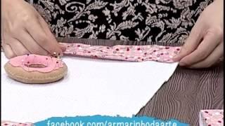 Como fazer um pano de prato decorado – parte 2