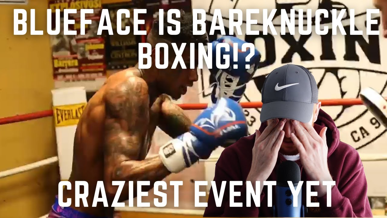 The CRAZIEST Celebrity Boxing Event Yet!   Blueface vs Nuemane   What is Going On!