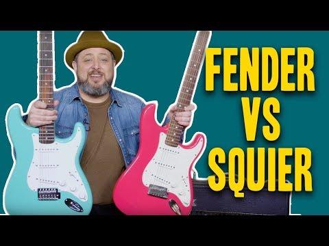 Gear Thursday: Fender Vs Squier Strat Comparison | Marty Schwartz