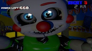 ALL THE JUMPSCARES OF BENNY THE CLOWN: CIRCUS WORLD | TODOS LOS SUSTOS | FNAF FANGAME |