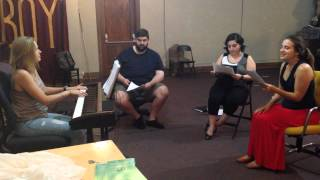 Fanatical rehearsal: My Favorite Part