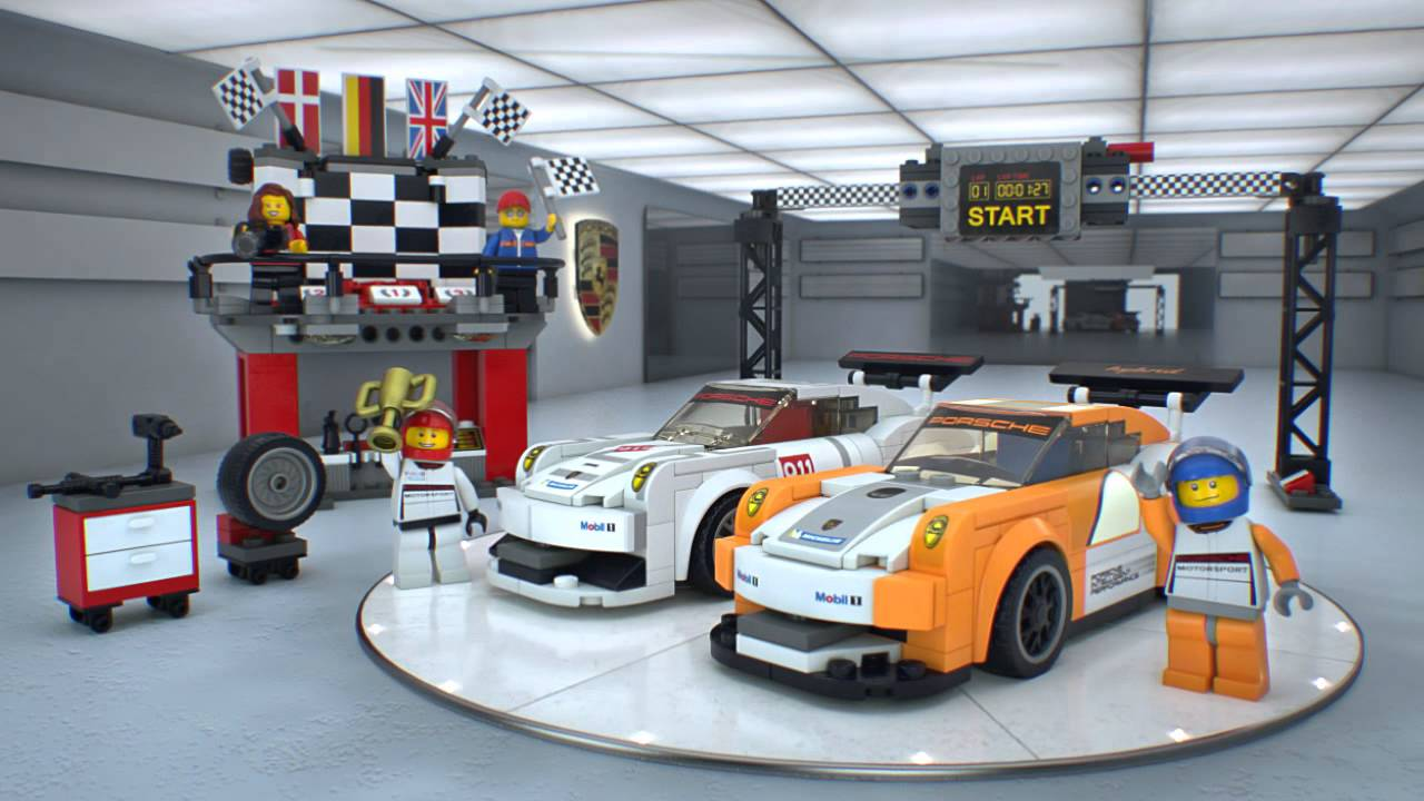 porsche 911 gt finish line lego speed champions 75912. Black Bedroom Furniture Sets. Home Design Ideas