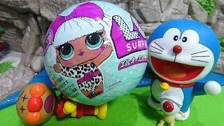 ドラえもんが岩山でL O L サプライズ! を発見♪アンパンマンにぶつかっちゃったよぉ~♪L O L  Surprise! Doll Series 1♪ゆうぴょん♪♪ thumbnail