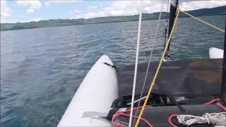 Minicat 420 и киты на Коста Рике