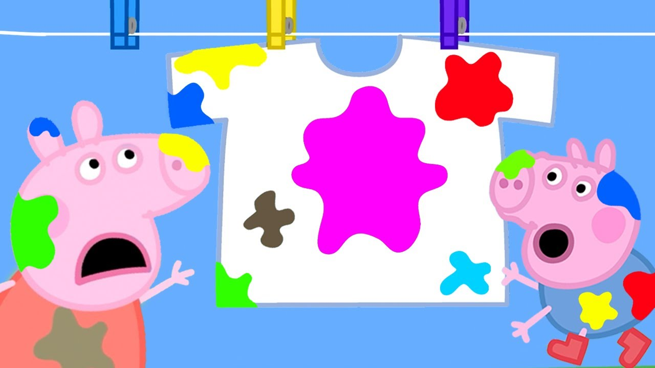 Peppa Pig Official Channel | Peppa Pig Gets Mud on Daddy Pig's Clothes