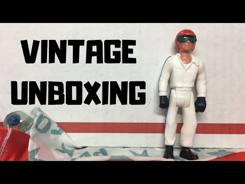 UNBOXING A 44 YEAR OLD FISHER-PRICE ACTION FIGURE