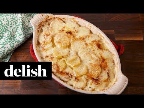 Potatoes Au Gratin | Delish