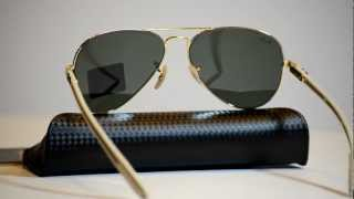 Fibre Rb8307 Sunglasses Ray Carbon Ban Aviator iuXPkZ