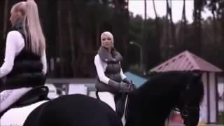 А мой смысл жизни-это конный спорт