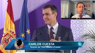 ¡BESTIAL!, CARLOS CUESTA LO ADELANTA:Sánchez va con todo a por Ayuso,veremos cosas que ni imaginamos