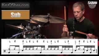 ★ Advanced Drum Lesson ★ Dave Weckl Fill Transcription