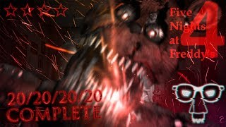 ПРОХОЖДЕНИЕ 20/20/20/20 ► Five Nights at Freddy's 4 ◄ 20/20/20/20 COMPLETE