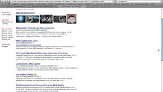 Google censorship mind control White TV
