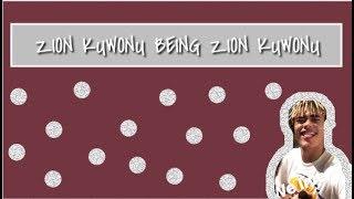 ZION KUWONU BEING ZION KUWONU