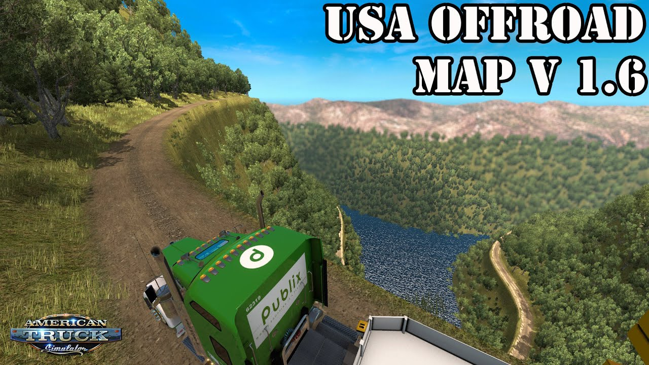 Ats Mods Usa Offroad Map V 1 6 Extreme Truckers