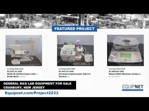 General R&D Lab Equipment for Sale