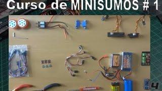 Robots Minisumos # 1 - Materiales