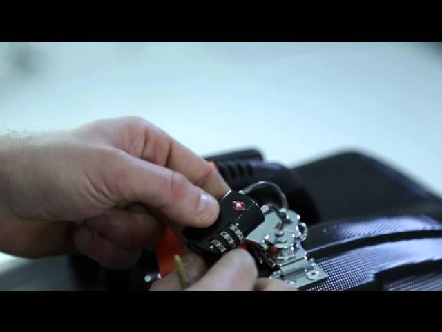 Hardcase Technologies TSA- Padlock - Tutorial