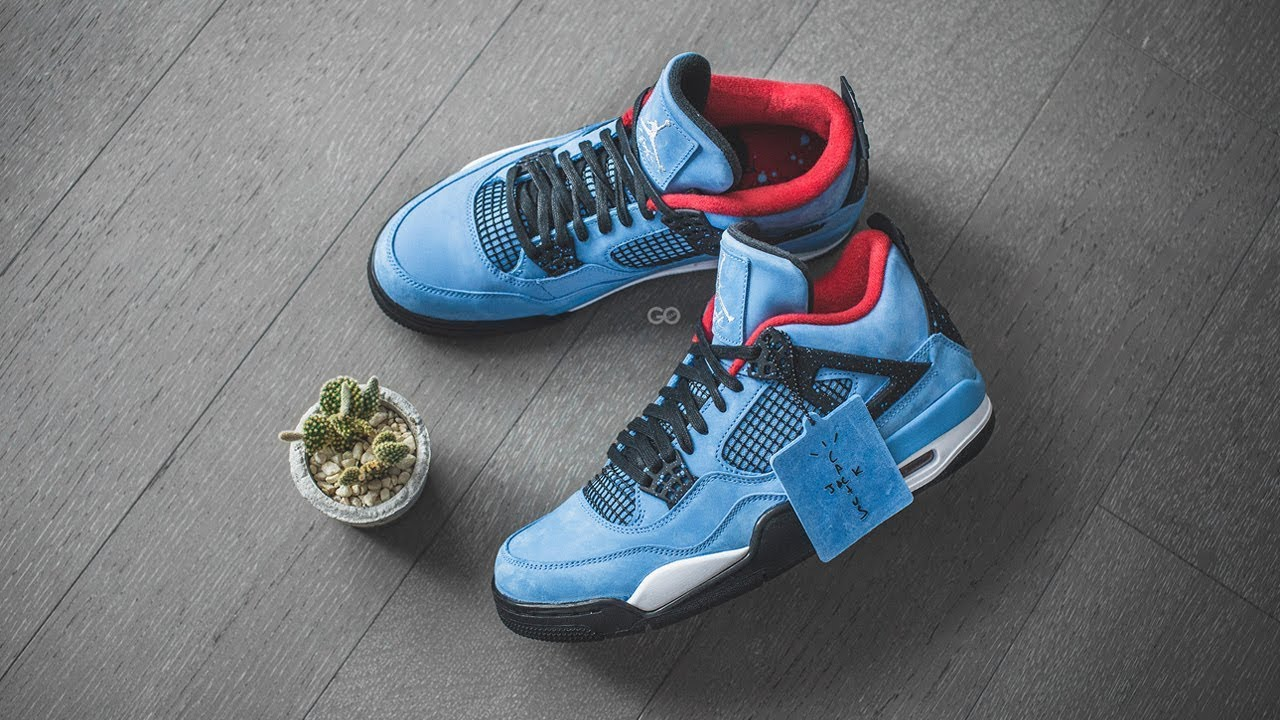 on sale 856ef 63259 Travis Scott x Air Jordan 4 Retro
