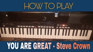 Download Video How to play Nigerian worship - you are great Steve crown MP3 3GP MP4