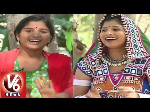 Janapadam With Folk Singer Indravathi || V6 News