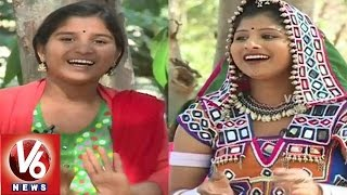 Janapadam With Folk Singer Indravathi || V6 News