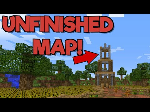 "THIS MAP IS UNFINISHED!! | ""Untitled"" Minecraft Adventure Map"