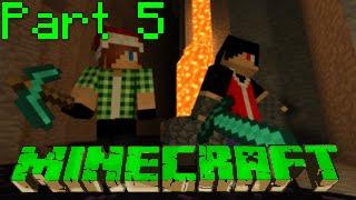 Minecraft Co-Op Walkthrough (Greek) Part 5: Η συνεργασία με τον Μενεκράτη ~w/ Menekratis~