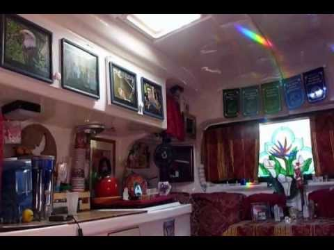 Rainbow Time At The Casbah A Tour Of My 17ft Burro Travel Trailer With Songs From Only Love CD