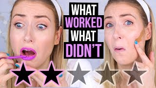 FULL FACE Testing WORST RATED Makeup: SEPHORA Edition! || What Worked & What DIDN'T thumbnail