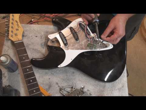 how to turn a cheap stagg strat into a good guitar
