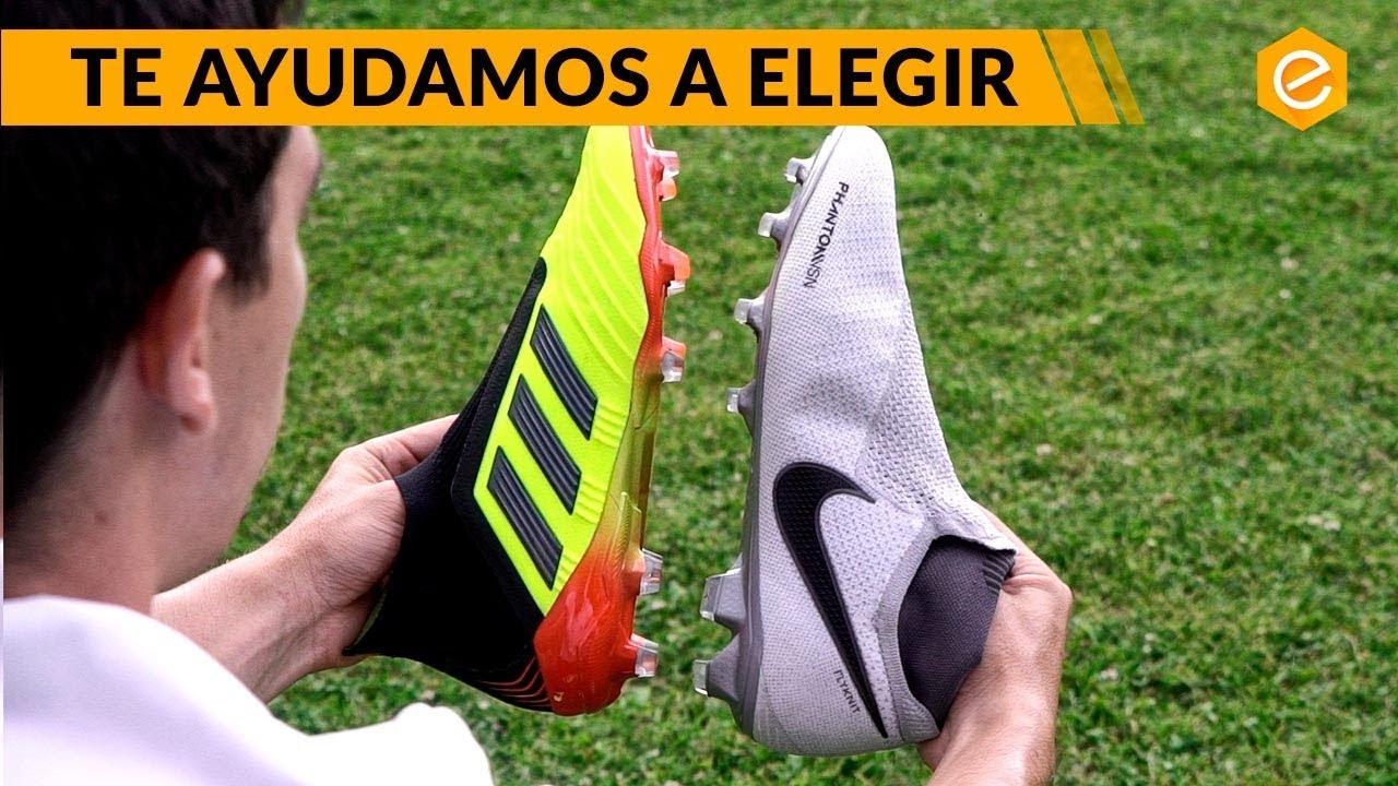 estilos de moda último diseño selección premium adidas PREDATOR vs. Nike PHANTOM