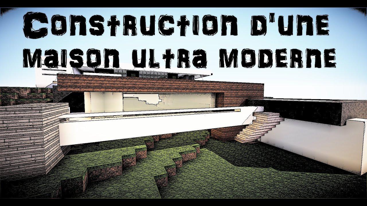 Minecraft : Construction d\'une maison du style ultra moderne [ep.3 ...