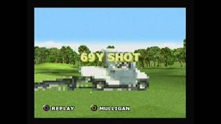 Tiger Woods PGA Tour 2000 - Exploding Cart Easter Egg