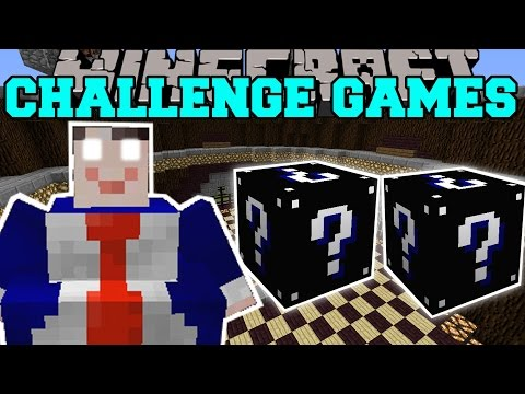 Minecraft: CRIMINAL CHALLENGE GAMES - Lucky Block Mod - Modded Mini-Game