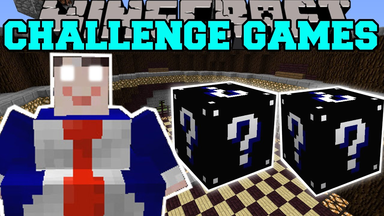 Minecraft criminal challenge games lucky block mod modded mini