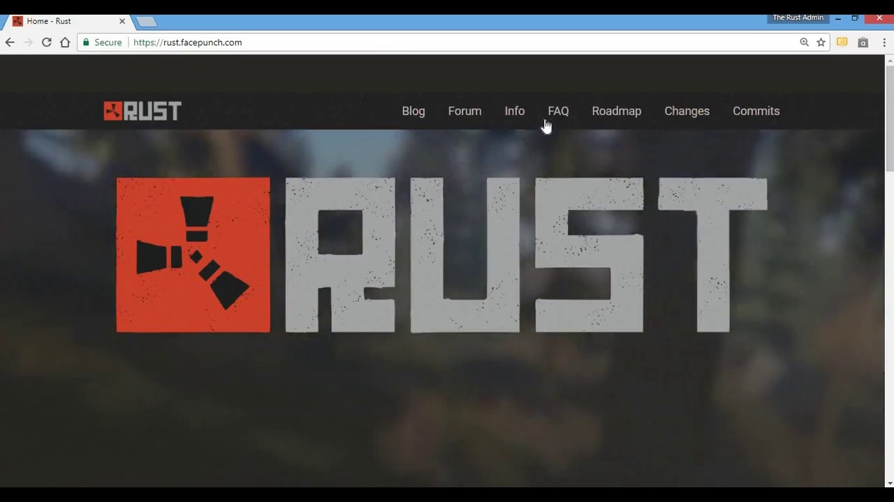 HOW TO MAKE A RUST SERVER 2017 IN SECONDS