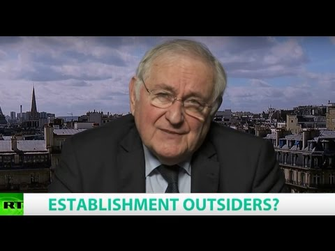 ESTABLISHMENT OUTSIDERS? Ft. Jacques Cheminade, Former French Presidential Candidate