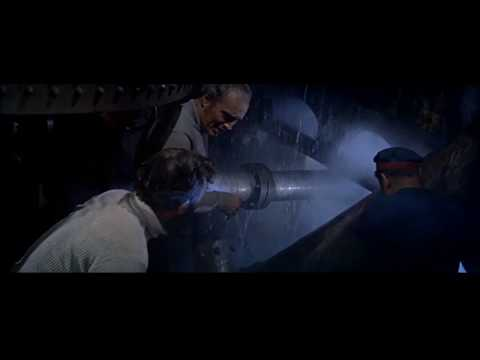 20,000 Leagues Under The Sea (1954) Repairing The Nautilus