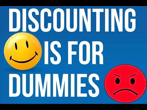 Discounting is for dummies - here's why (and what to do instead)