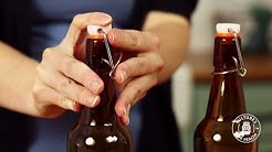 How to assemble flip-top bottles
