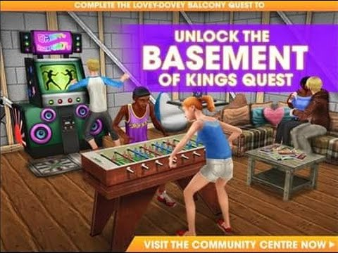 DIY HOMES Part 3: Basement of King's QUEST – The Sims FreePLAY