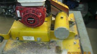 видео Ручной стартер на двигатель Honda GXV 120