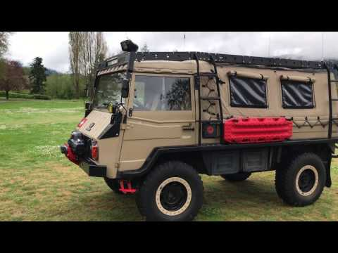 Search and Rescue Pinzgauer vehicle walkthrough