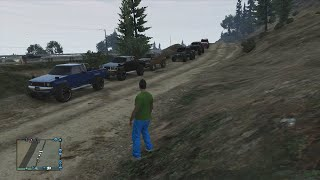 GTA 5 ONLINE 4X4 MEET AND CRAWLING AND MUDDING(Thanks for watching and please subscibe., 2014-08-19T03:04:01.000Z)